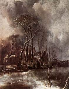 CAPELLE_Jan_van_de_Winter_Landscape