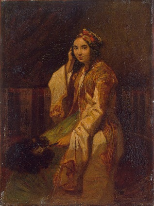 Decamps_Woman_in_Oriental_Dress