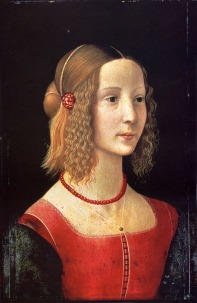 Ghirlandaio_Domenico_Portrait_Of_A_Girl