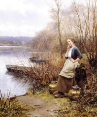 Knight_Daniel_Ridgway_A_Lovely_Thought