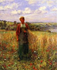 Knight_Daniel_Ridgway_Gathering_Wheat