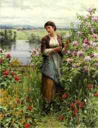 Knight_Daniel_Ridgway_Julia_among_the_Roses