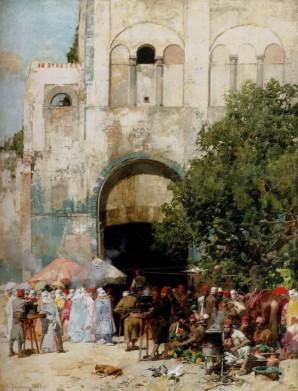 Pasini_Alberto_market_Day_Constantinople