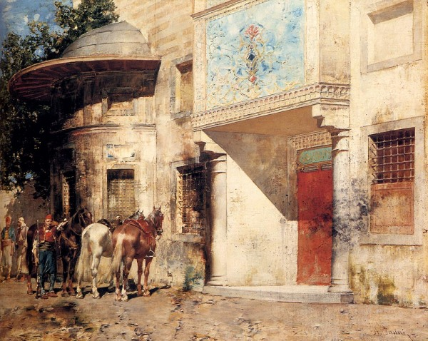 Pasini_Alberto_Outside_The_Mosque