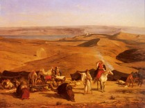 Pasini_Alberto_The_Desert_Encampment