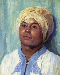 Portrait of an Algerian, 1900