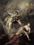 SUVEE_Joseph_Benoit_The_Combat_Of_Mars_And_Minerva