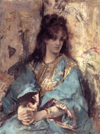 Stevens_A_Woman_Seated_in_Oriental_Dress