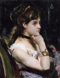 Stevens_Alfred_Woman_Wearing_a_Bracelet